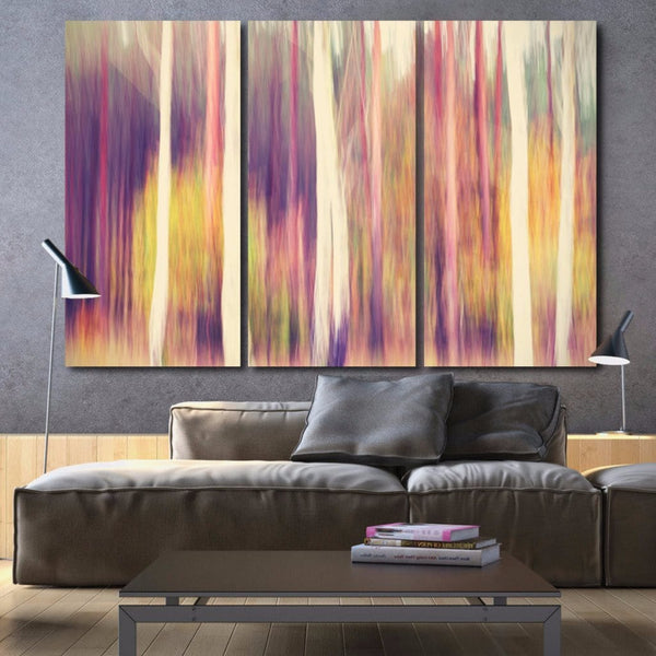 Abstract Trees Canvas Wall Art - Canvas Wall Art - HolyCowCanvas