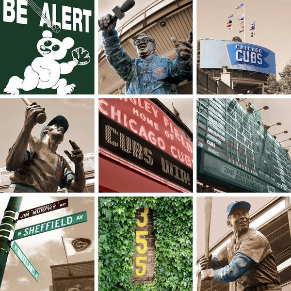 Chicago Cubs Canvas Any Print - Canvas Wall Art - HolyCowCanvas