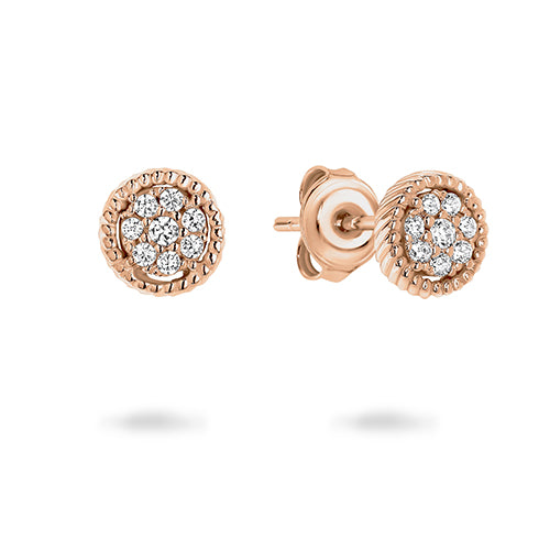 Georgini 'Mica' Rose-Tone 5mm CZ Studs E763RG
