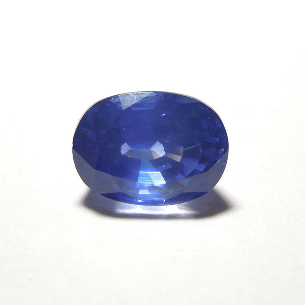 2.77 ct Blue Oval Sapphire