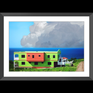 Watermelon House - Framed art photograph print