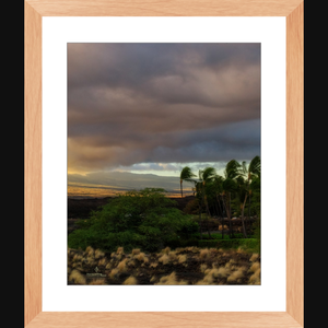 Fire on the Mountain - Framed art photograph print wall art