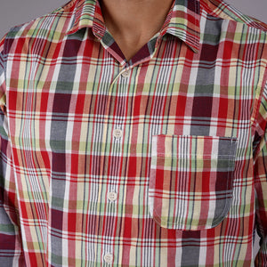 Chainstitch Shirt Watermelon Cooler Madras
