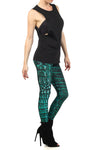 Green Dragon Skin Leggings - POPRAGEOUS  - 3