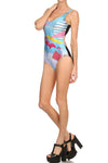 Miami Netscape One-Piece Swim - POPRAGEOUS  - 3