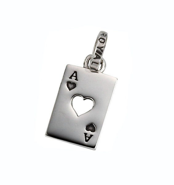 ACE OF HEARTS PENDANT
