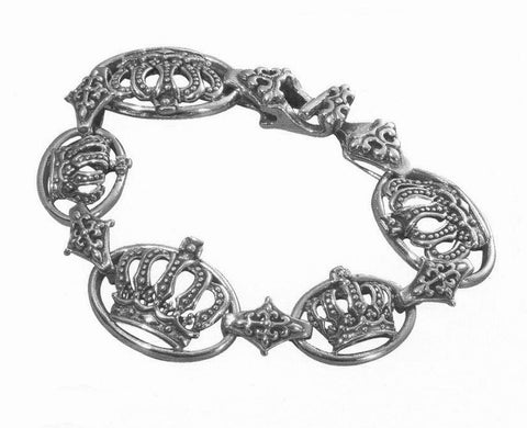 ABBEY CROWN SMALL & MEDIUM COMBO RINGS BRACELET