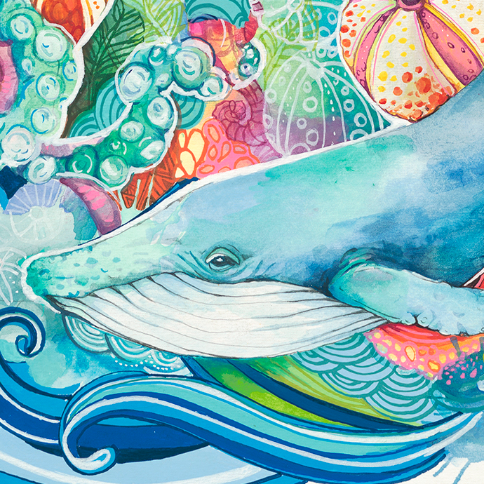 "Lauren Roth, ""World Oceans Day Hawaii"""