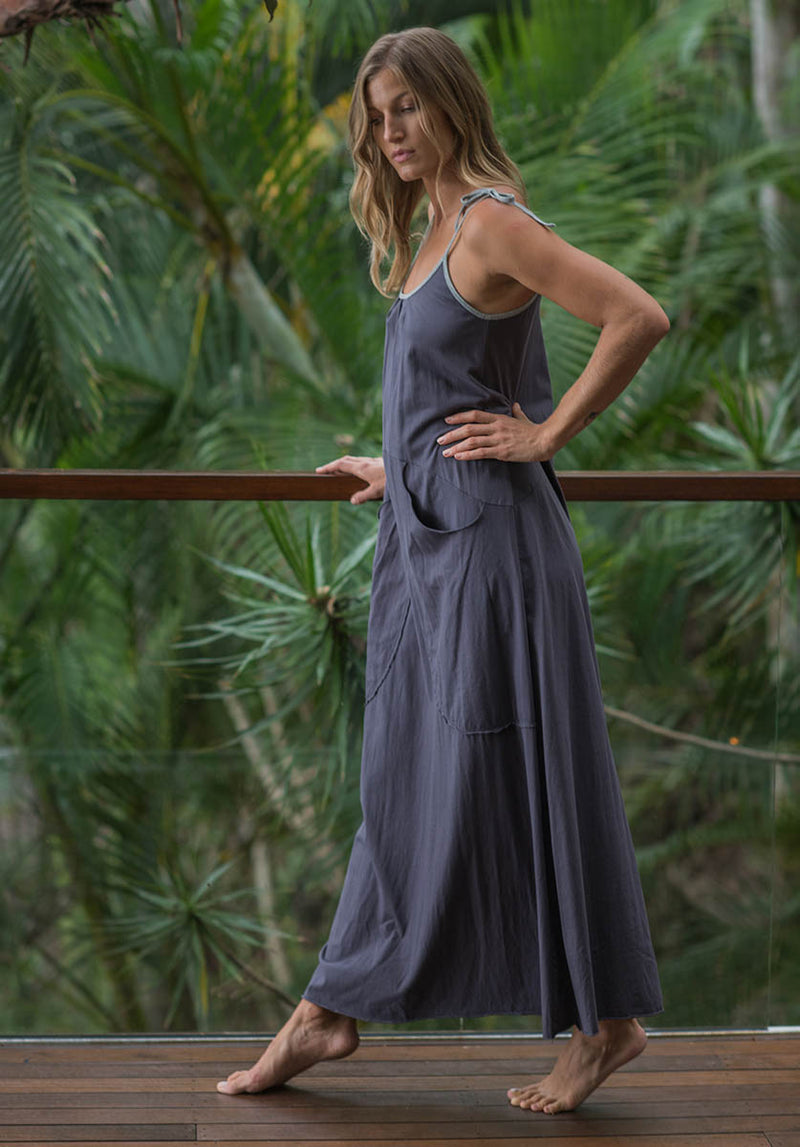 Briana Maxi dress shadow