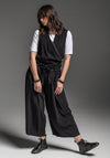 Ritual pant black prewashed viscose