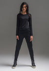 Wool Nellie pant black