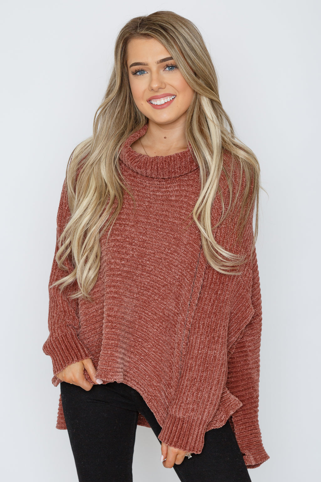 Eleanor Sweater Brick