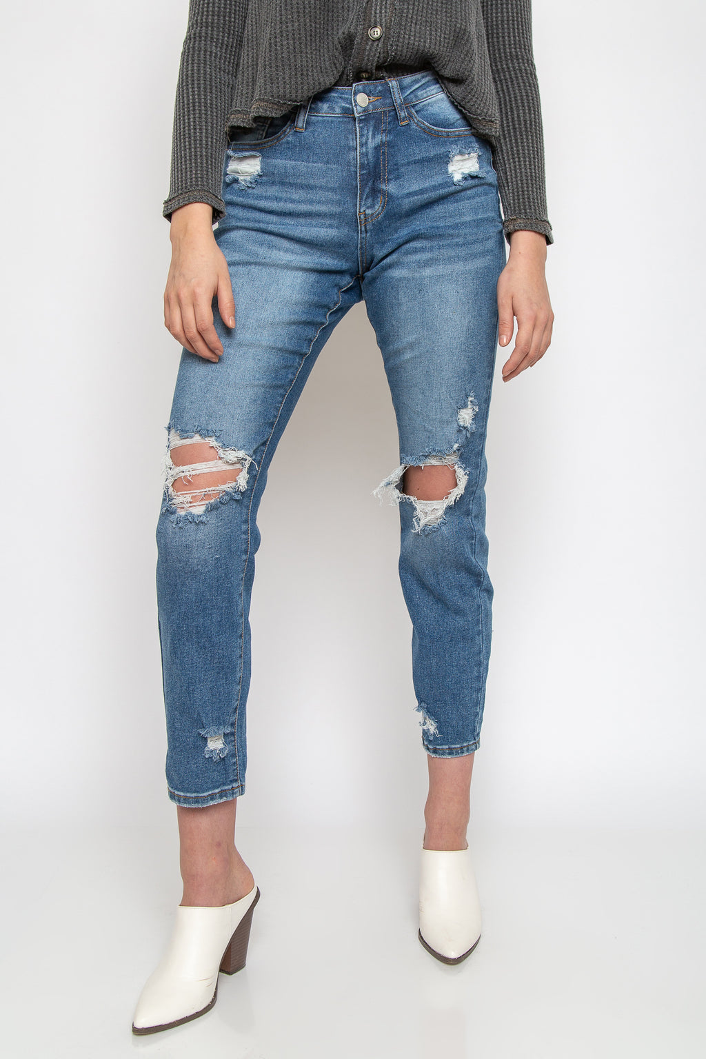 Bella Cropped Denim