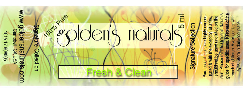 Fresh & Clean Essential Oil Blend, Essential Oils, Golden's Naturals - Golden's Naturals = quality essential oils at affordable prices