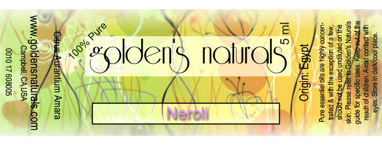 Neroli Essential Oil, Essential Oils, Golden's Naturals - Golden's Naturals = quality essential oils at affordable prices