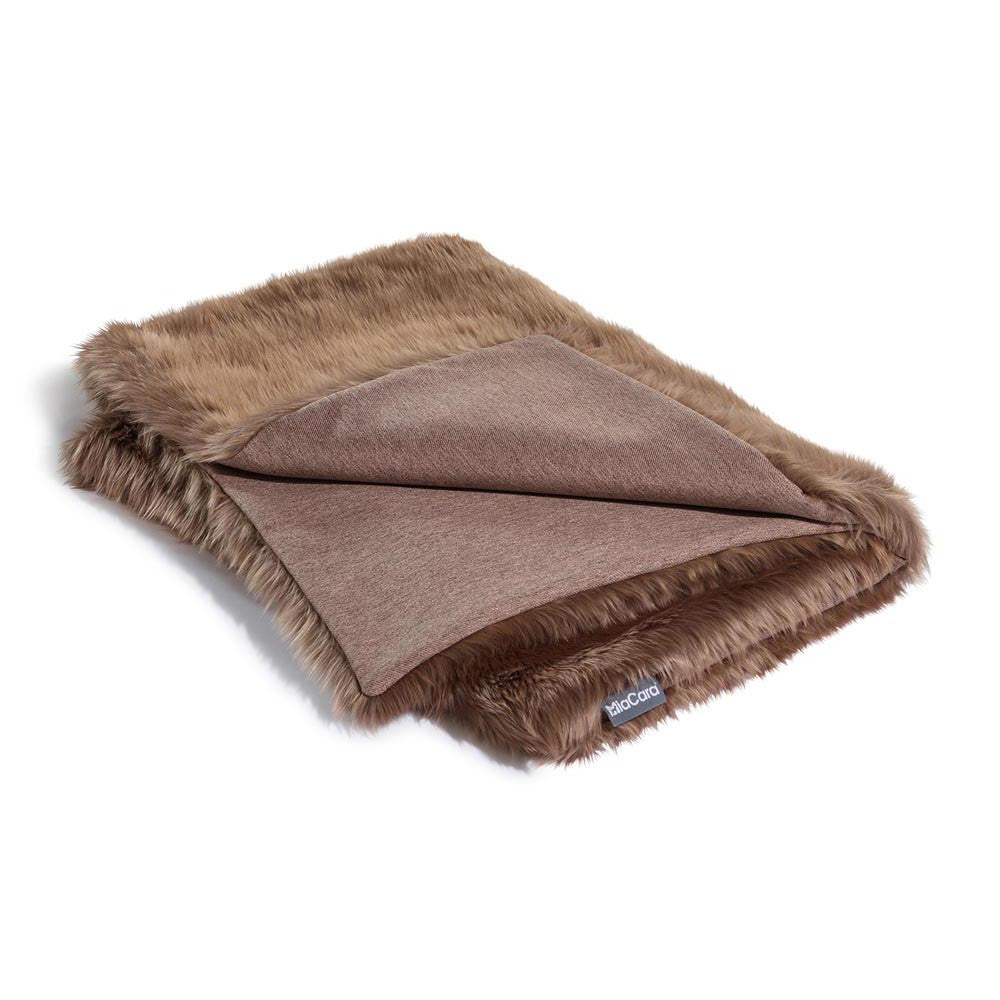 [product _vendor] Lana Faux Fur Dog Blanket - STYLETAILS