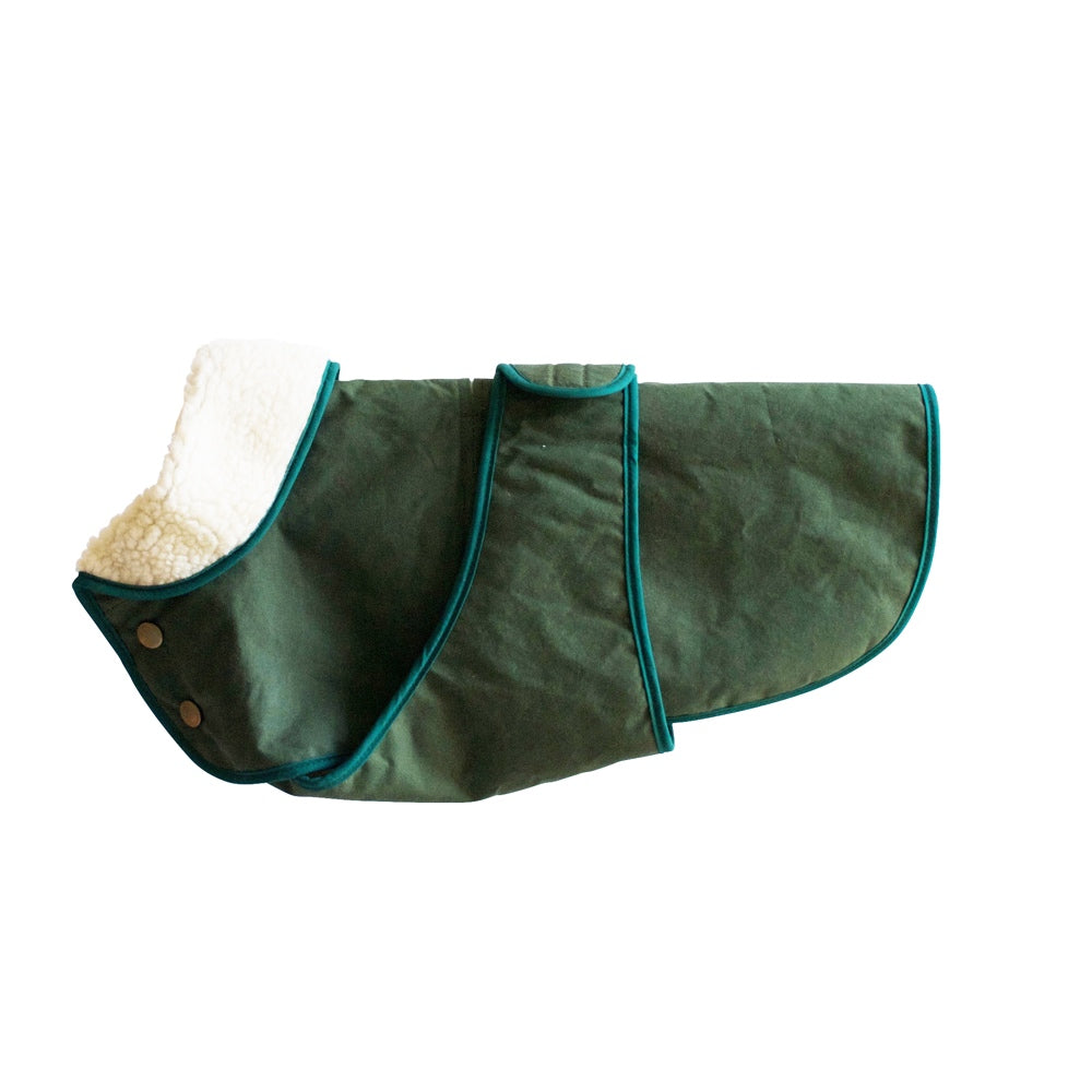[product _vendor] Winter Dog Coat - Green - STYLETAILS