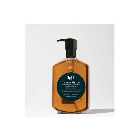 Leif Lemon Myrtle Body Cleanser 500mL