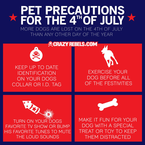 4th of July Safety for Dogs