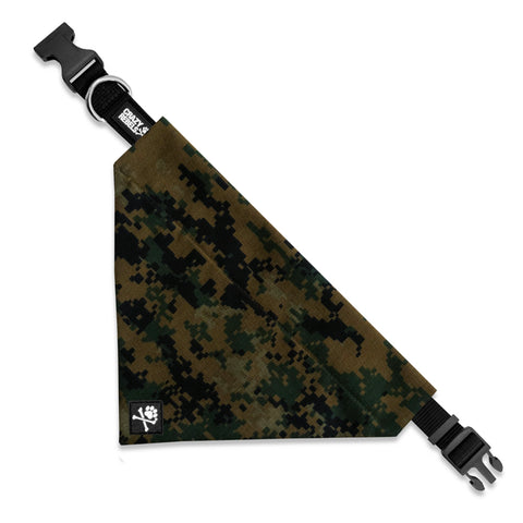 Digital Camo Bandana Collar