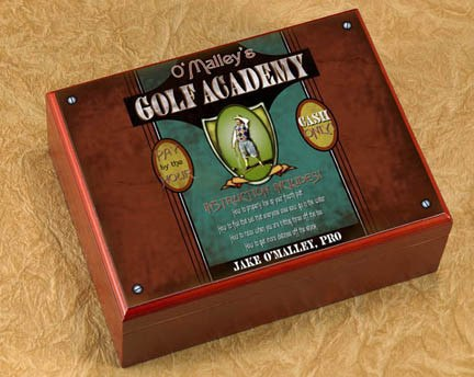 Personalized Golf Academy Humidor