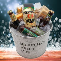Beef and Beer Ice Bucket Gift Set