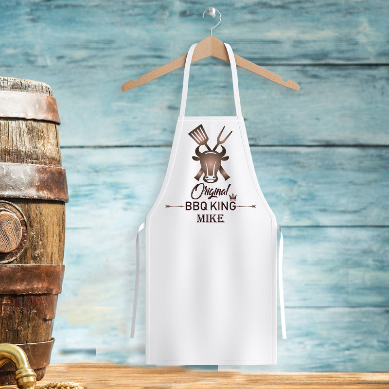 Savvy Custom Gifts Personalized BBQ King Apron