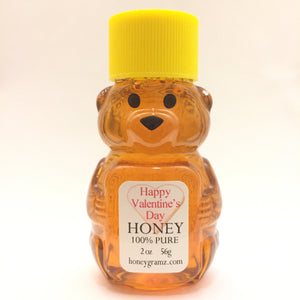 honeygramz happy valentine's day honey bear