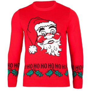 Saint Nicholas AKA Santa -  Mens - British Christmas Jumpers