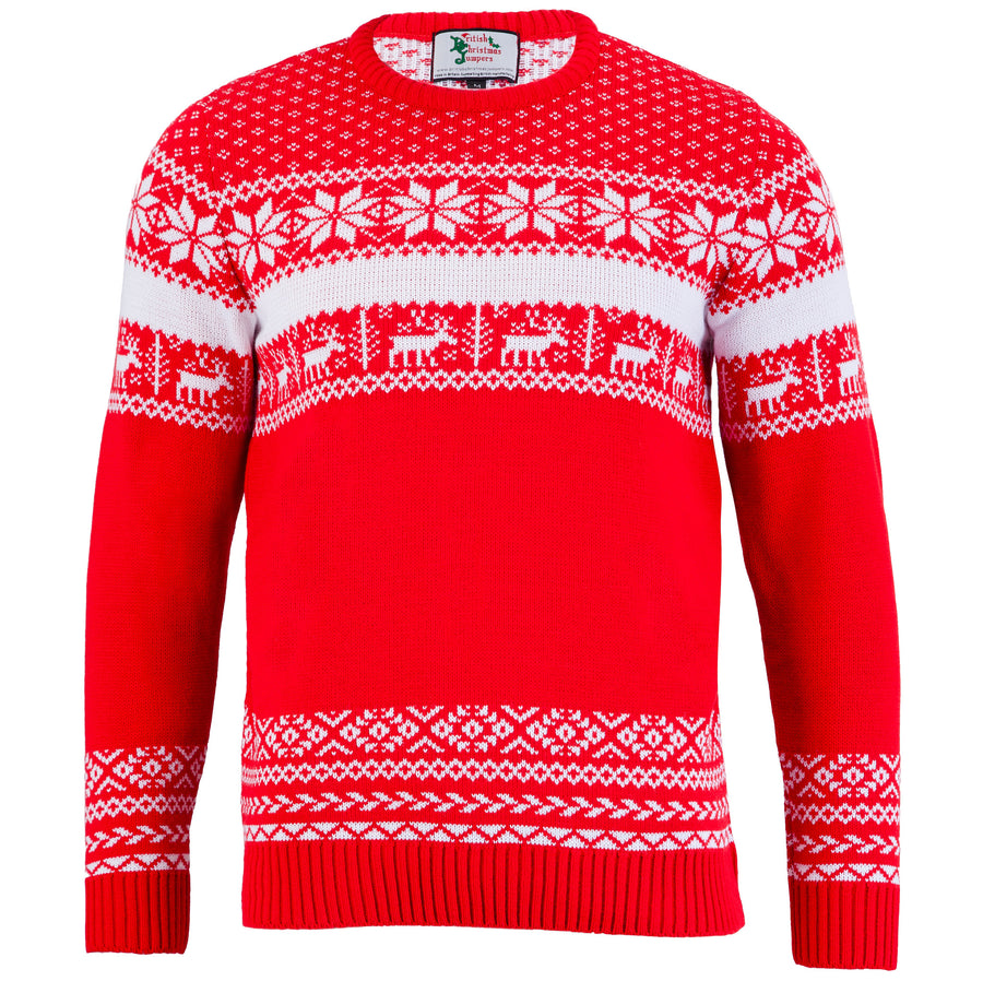 The Nordic Christmas Jumper - Mens - British Christmas Jumpers