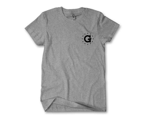 G Pen Stars Tee (Grey) - Grenco Science