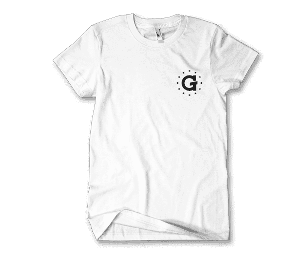 G Pen Stars Tee (White) - Grenco Science