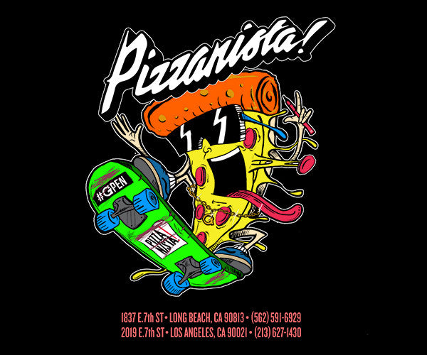Pizzanista! X G Pen Tee - Grenco Science