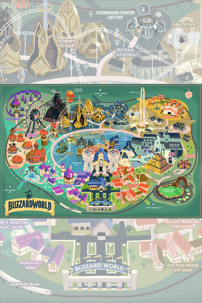 """BlizzardWorld"" Large Variant by Glen Brogan"