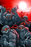 """TMNT RED"" by Zac Atkinson $45.00 - Hero Complex Gallery"
