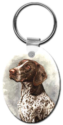 German Shorthair Pointer  Key Chain