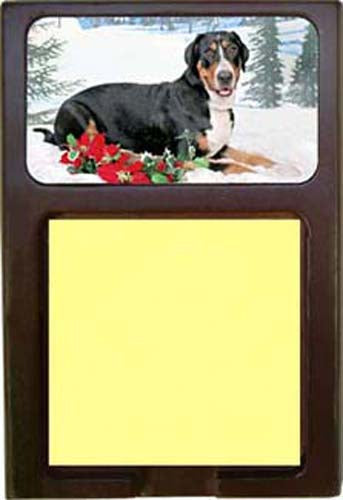 Greater Swiss Mountain Dog Note Holder