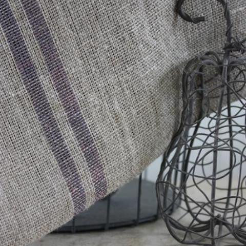 Rustic Towel - Grey