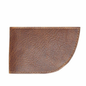 Nantucket Front Pocket Wallet in Bison