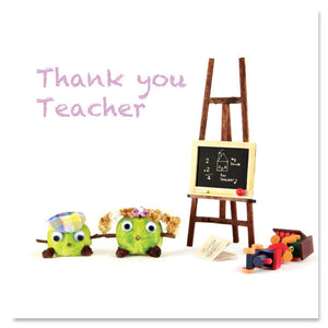 Thank you teacher by Charlotte Gale