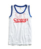 Snyder's Mesh Tank in White Alternate Image