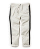 Drawstring Side Stripe Trouser in Stone Alternate Image