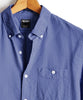 Garment Dyed Button Down Seersucker in Blue Alternate Image