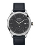 Timex American Documents™ 41mm Navy Leather Strap Watch Alternate Image