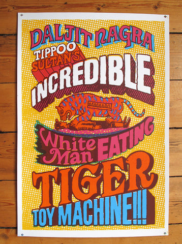 Andy Smith - Tiger Toy Machine By Daljit Nagra