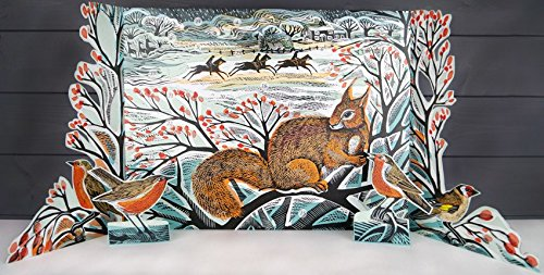 A Winter's Tail Advent Calendar by Angela Harding