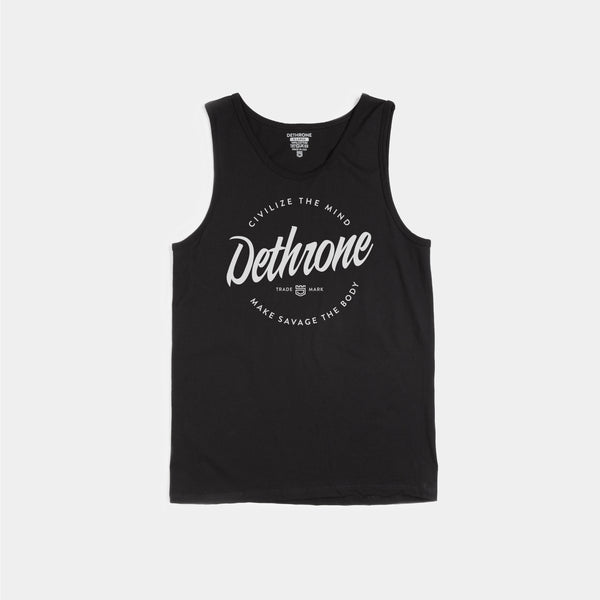 Dethrone, BRANDED 2.0 Tank - Black
