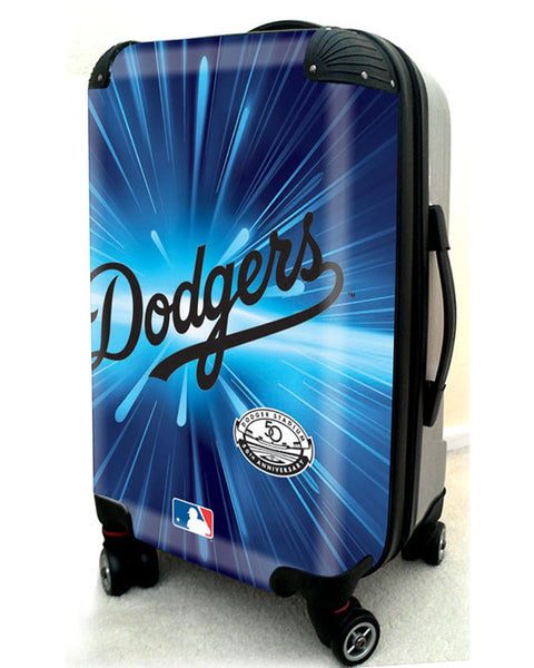 "Los Angeles Dodgers, 21"" Clear Poly Carry-On Luggage by Kaybull #LAD5 - OBM Distribution, Inc."