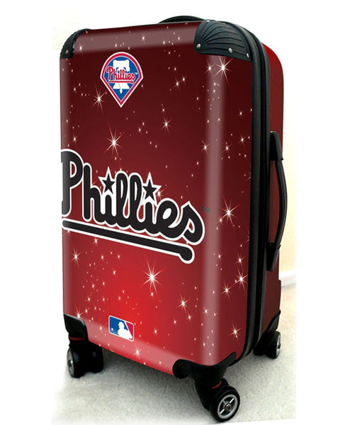 "Philadelphia Phillies, 21"" Clear Poly Carry-On Luggage by Kaybull #PHI8 - OBM Distribution, Inc."