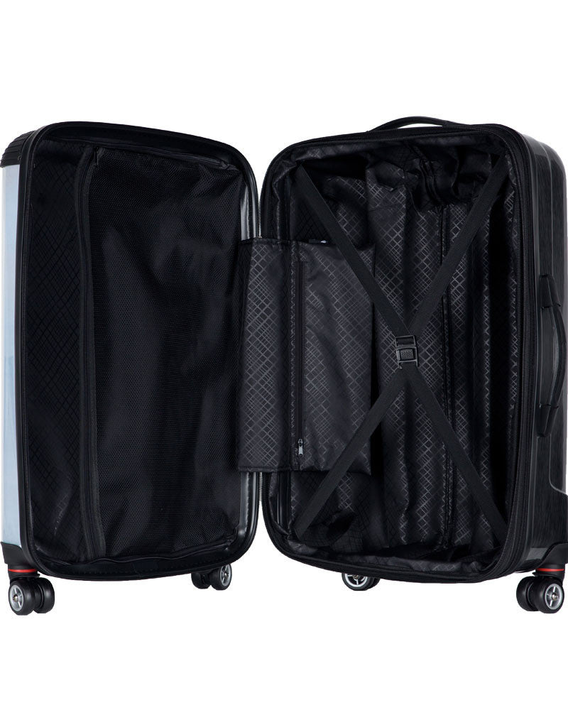 "Chicago White Sox, 21"" Clear Poly Carry-On Luggage by Kaybull #CWS14 - OBM Distribution, Inc."